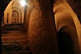 How an Armenian man manually dug an underground temple: BBC