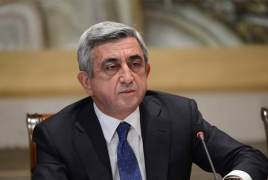 Armenia president to visit Russia on December 26