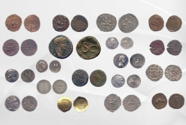 Ancient coins from Alexander the Great's era arrived in Armenia
