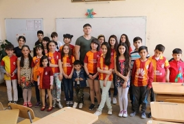 Azerbaijani teacher says 'knowingly' promoted tolerance for Armenians