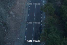 Гололед на некоторых дорогах Армении: Ларс закрыт для грузовиков
