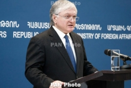 Armenia FM briefs army soldiers on Karabakh settlement process