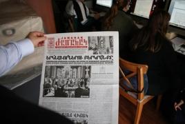 Turkey-based Armenian newspaper marks 110th anniversary
