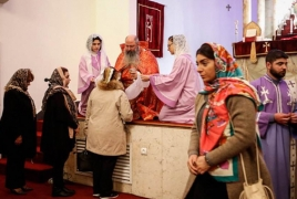 Armenian women consecrated as deacons at Tehran cathedral