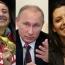 Симоньян, Егорян и Шахназаров - в числе доверенных лиц Путина на выборах