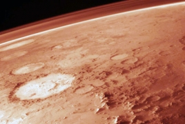 Vast quantities of water ice discovered below surface of Mars
