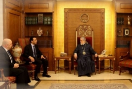Արամ Ա-ն Բեյրութի քաղաքապետի հետ քննարկել է քաղաքի զարգացման ծրագրերը