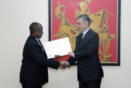 New Nigerian envoy, deputy Armenian FM vow to boost ties