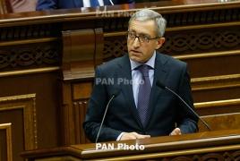 Armenia energy minister resigns