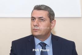 Armenian envoy talks bilateral ties, EU deal with Romanian president