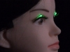 Shiseido unveils battery-free LED eyelashes