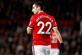 Henrikh Mkhitaryan bids 'tearful' farewell to Manchester United: source
