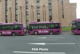 Երևանում ավտոբուսները կմոտենան 5-15 րոպեն մեկ ու մինչև 150 մարդ կտեղափոխեն