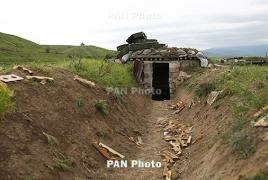 Azerbaijan employs combat drone against Karabakh soldiers
