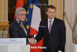 France says 'will always be there for Armenia'