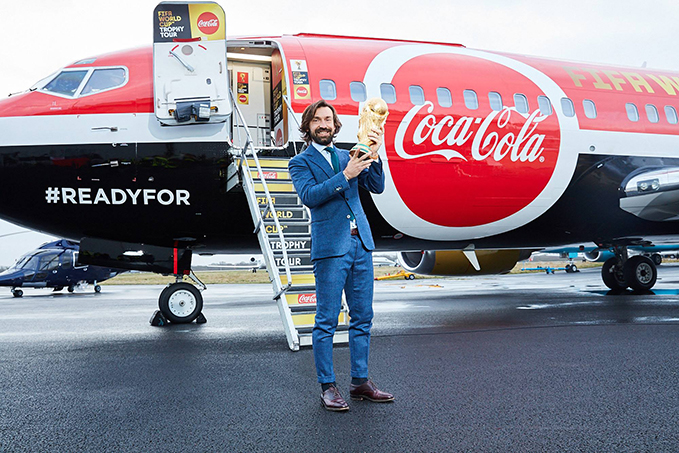 The FIFA World Cup Trophy Tour by Coca-Cola kicks off!
