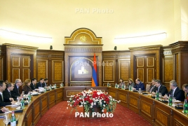 Proposed structure of new Armenia government revealed