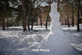 Snow art fest is one more reason to pack your bag for Armenia