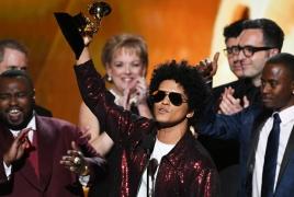 60th Grammy Awards: Bruno Mars wins big, Jay-Z stays with 8 nods