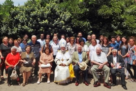 Top Armenian Catholic cleric met Pope Francis in Chile