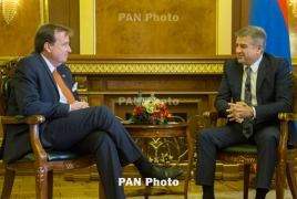 U.S. ready to continue supporting Armenia in reforms process