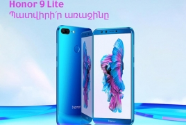 Honor partners with VivaCell-MTS to launch Honor 9 Lite sales in Armenia