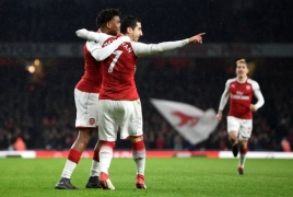 Arsenal vs Everton 5-1: Hat-trick of assists for Henrikh Mkhitaryan