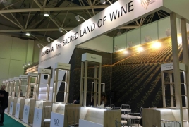 Armenia producers unveil wines at Moscow's Prodexpo fair