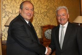 Armenia envoy, UK State minister talk Karabakh settlement