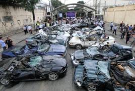 Ֆիլիպիններում ցուցադրաբար ոչնչացրել են ապօրինի ներկրված թանկարժեք մեքենաները