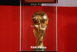 ՖԻՖԱ ոսկե գավաթը Երևանում է. Այն հանվել է հանրային ցուցադրության