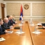 Artsakh participation in peace talks discussed with OSCE mediators