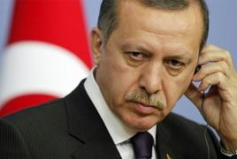 Эрдоган: Курды сбили участвующий в операции в Сирии турецкий военный вертолет
