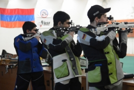 Young Armenian shooters to try to qualify for Buenos Aires Olympics