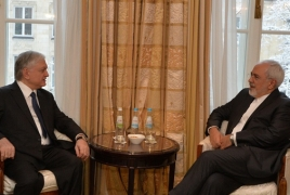 Top Armenian, Iranian diplomats talk bilateral ties in Munich