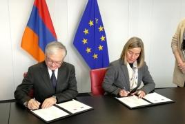 EU, Armenia sign Partnership Priorities with €160 mln aid package