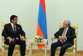 Президент Мадагаскара в мае прибудет в Армению с государственным визитом