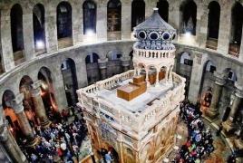 Храм Гроба Господня закрыт в знак протеста на неопределенный срок