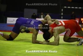 Armenian wrestlers snatch 6 medals at Kiev Memorial tournament