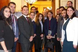 Armenian Committee welcomes NSW PM Gladys Berejiklian to DC