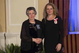Canada honors Armenian benefactor with Meritorious Service Medal