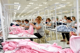 Export of clothing and textile products on the rise in Armenia