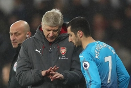 Henrikh Mkhitaryan says Arsenal must unite for Arsene Wenger