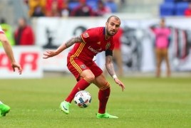Real Salt Lake reportedly waive Yura Movsisyan