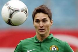 Marcos Pizzelli nets a goal for Kazakhstan's Aktobe