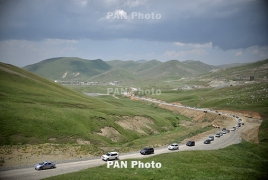 Third Armenia-Artsakh road to be ready by year-end