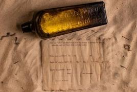 У побережья Австралии нашли 132-летнее послание в бутылке
