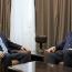 Մասիս Մայիլյանը և Կասպրշիկը քննարկել են շփման գծում տիրող իրավիճակը