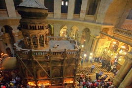 Armenian priest unveils mystery of Jerusalem's Holy Fire