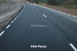 На автодороге Сотк-Карвачар местами гололед: Ларс открыт